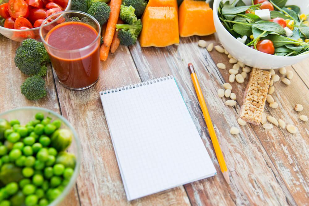 dieta com um nutricionista