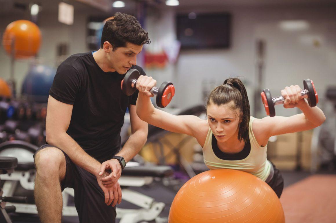 treinar com um personal