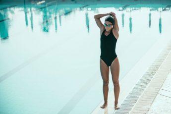 iniciantes na natação